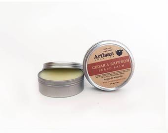 Cedar & Saffron Beard Balm