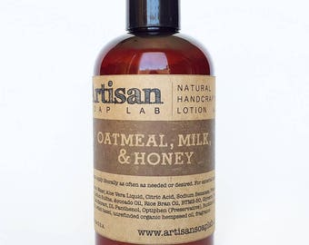 Oatmeal, Milk, & Honey Body Lotion