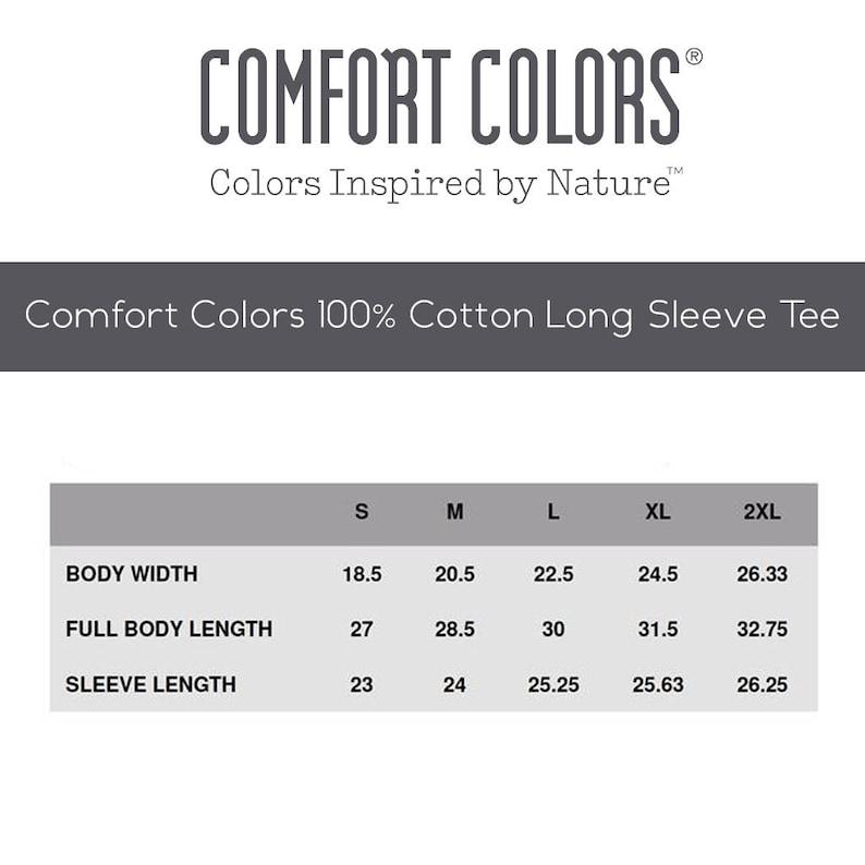 3d3dee5afe4 Disney The Bare Necessities Comfort Colors Long Sleeve