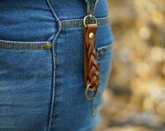 Belt clip keychain | Etsy