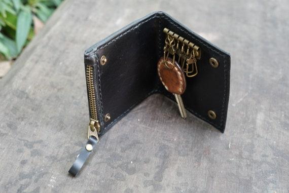 EG/_ Men Women 24 Card ID Credit Card Holder Leather Pocket Case Purse Wallet Ref