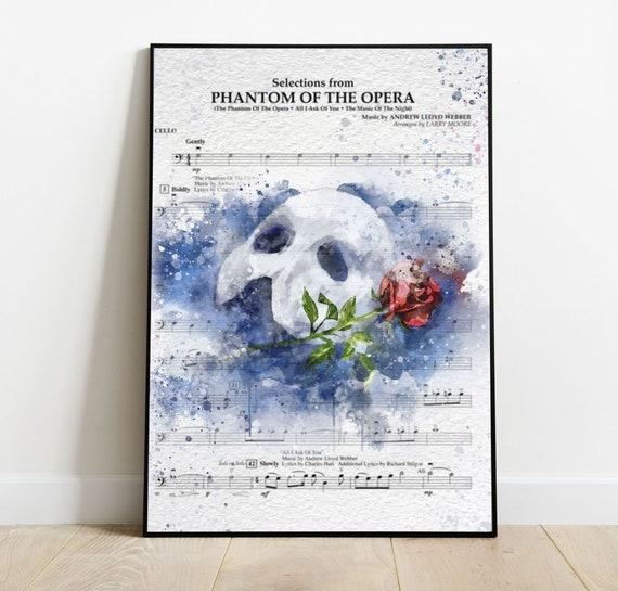 139309 THE PHANTOM OF THE OPERA Decor Wall Print POSTER