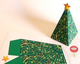 Santa Claus Diy Printable Gift Box For Christmas Party Favor Etsy