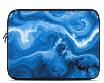 8ee07bfcff4 Laptop Sleeve Bag Case - Sapphire Agate - Neoprene Padded - Fits MacBooks +  More