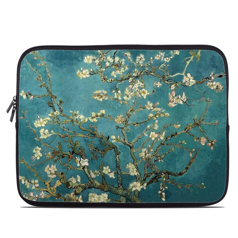 2ce59282f45c Laptop Sleeve Bag Case - Blossoming Almond Tree by Vincent van Gogh -  Neoprene Padded - Fits MacBooks + More