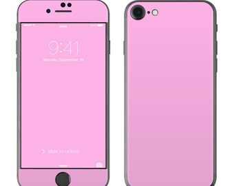 Solid Pink - iPhone 7/7 Plus Skin - Sticker Decal