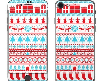 Comfy Christmas by FP - iPhone 7/7 Plus Skin - Sticker Decal