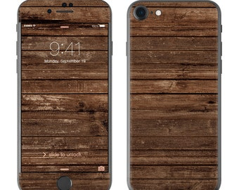 Stripped Wood - iPhone 7/7 Plus Skin - Sticker Decal