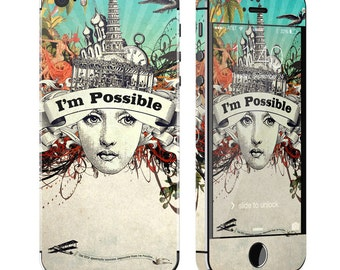 Possible by Duirwaigh Studios - iPhone 5/5S Skin - Sticker Decal