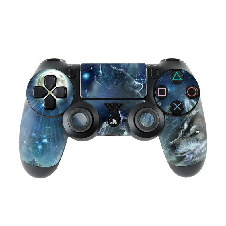 newest b0b8c e3003 Sony PS4 Controller Skin Kit - Bark At The Moon by Antonia Neshev -  DecalGirl Decal Sticker
