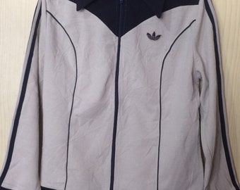 d66535b1bd0262 Vintage 1970s Adidas West Germany Schwahn Tracsuit Top Track Jacket no Retro  oldshcool size 46