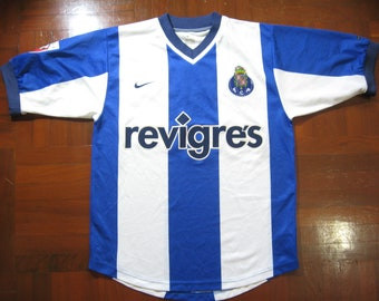 c75145ccd Originals Vintage Nike Fc Porto Portugal 2000 Rare Home VTG Football Jersey  Soccer Shirt Authentic 90s Size S