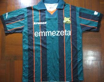 22735f27012 Originals Vintage Kronos AC Venezia Italy Serie A 1999 Rare Home Kit VTG  Football Jersey Soccer Shirt Authentic 90s Size L
