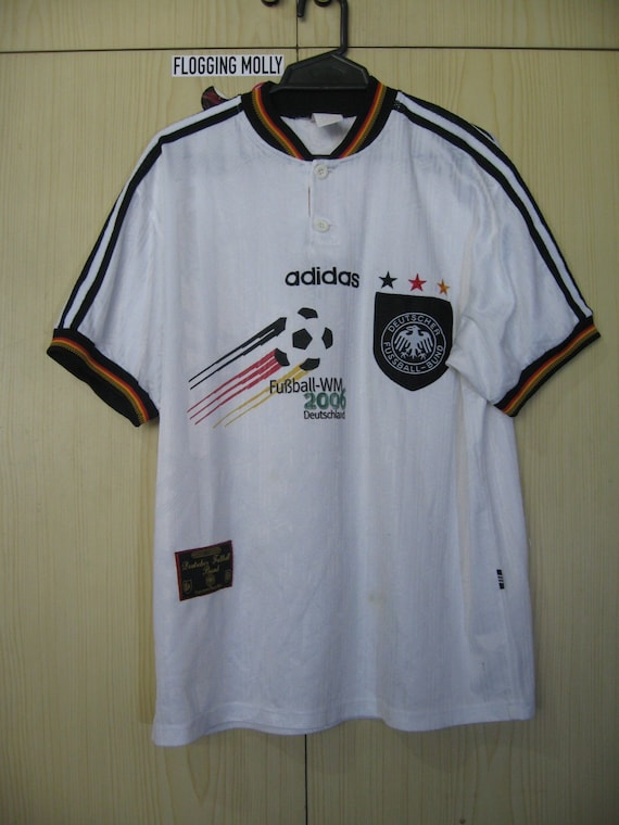 Originals Vintage Germany Euro 1996 Home Kit Football Jersey Soccer Shirt Adidas Authentic 90s Size M