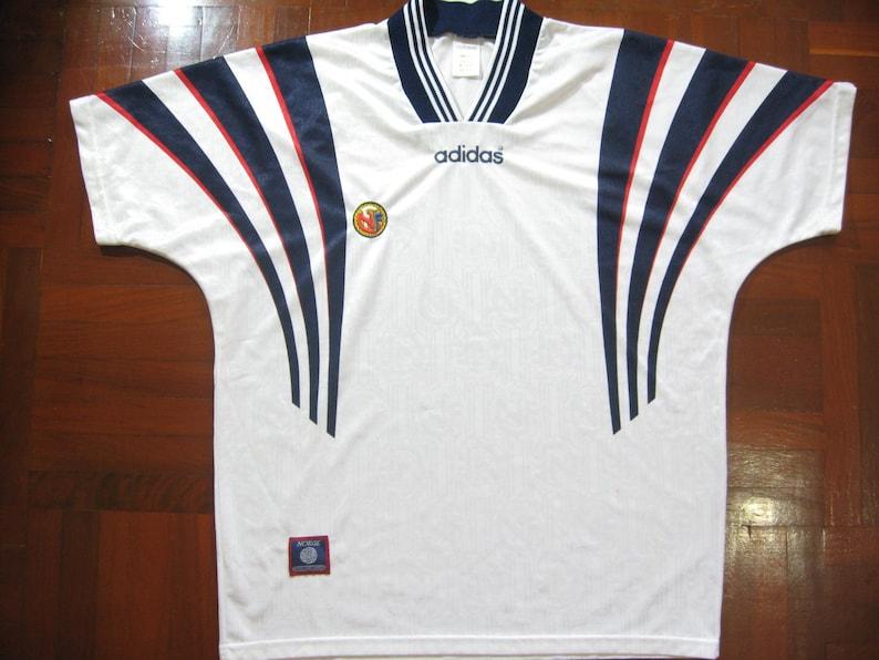 82944e51c96 Originals Vintage Norway World Cup 1994 1996 Home Kit Adidas