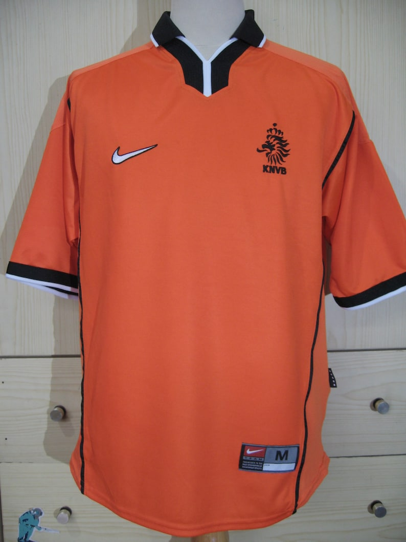 4e4e86f90aa Vintage AUTHENTIC Nike Holland Netherlands Football World Cup | Etsy
