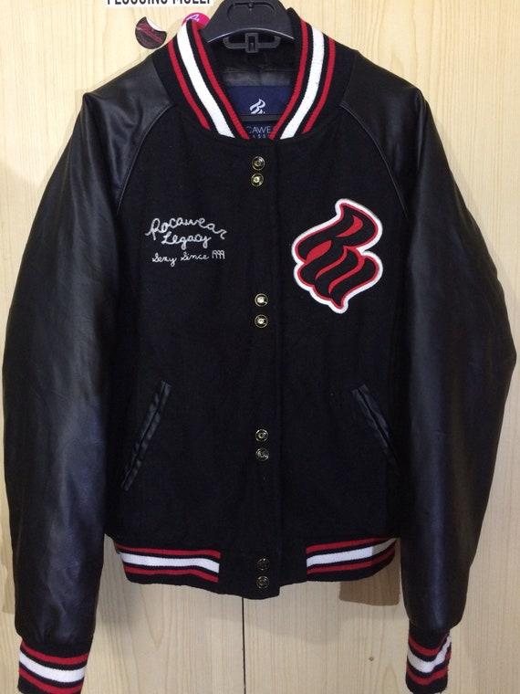 Is Time Money Bomber Hip Hop Star Rocawear Men/'s Designer Track Jacket White