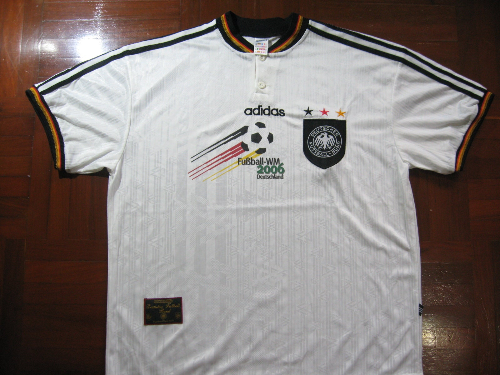 Shirt GermanyAzərbaycan Adidas Originals Deutschland Retro T XZPuTkiO