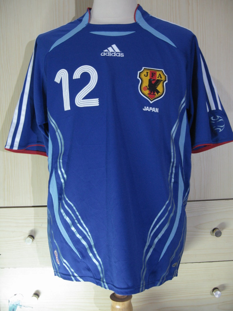 Vintage adidas Japan JFA National Teams World cup Football shirt Soccer  Jersey S... Vintage adidas Japan JFA National Teams World cup Football shirt  Soccer ... 2b151029b