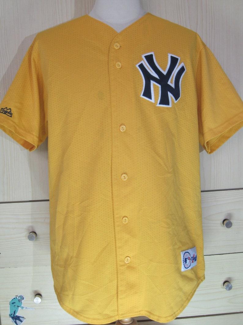 5232278bce4 Vintage Majestic New York Yankees NY Usa Jersey MLB Baseball
