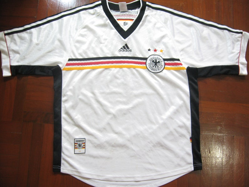 3b8351fe3 Originals Vintage Germany World Cup 1998 Kit Football Jersey