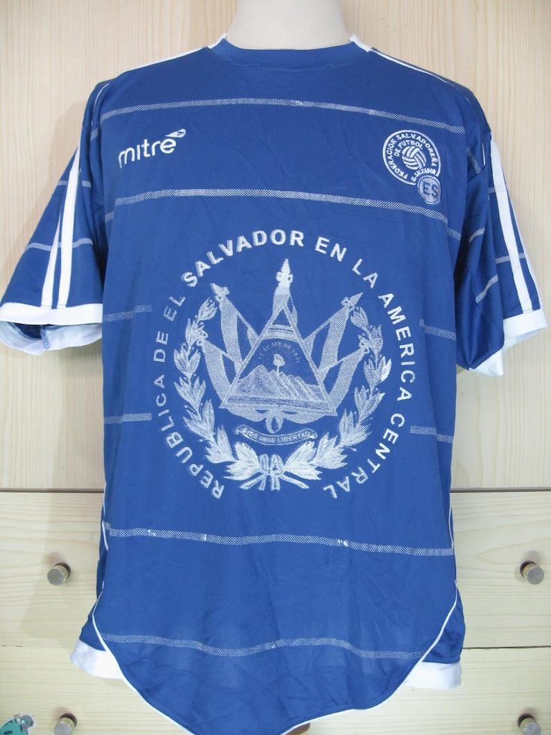 abba5ec94bc Vintage El salvador National Teams World cup Football shirt