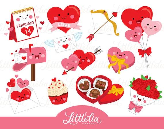 San valentino kawaii amore kawaii san valentino clipart etsy - Animale san valentino clipart ...