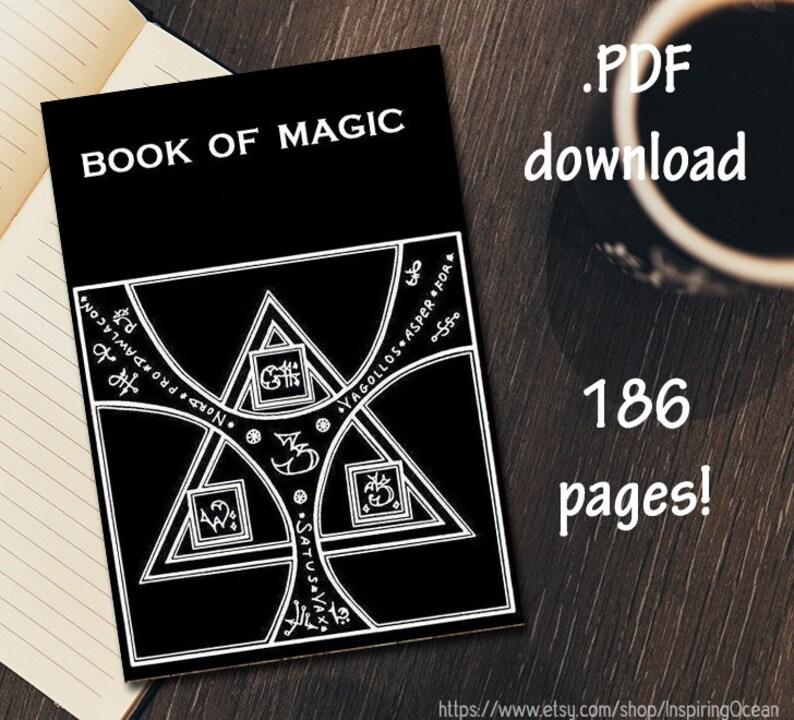 Book of Magic, pdf digital download, 186 pages
