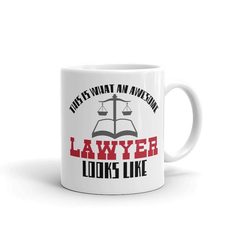 Funny Lawyer Attorney Coffee Mug Law Student Men Women Gift