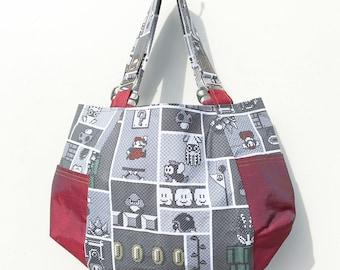 Mario Side Pocket Purse