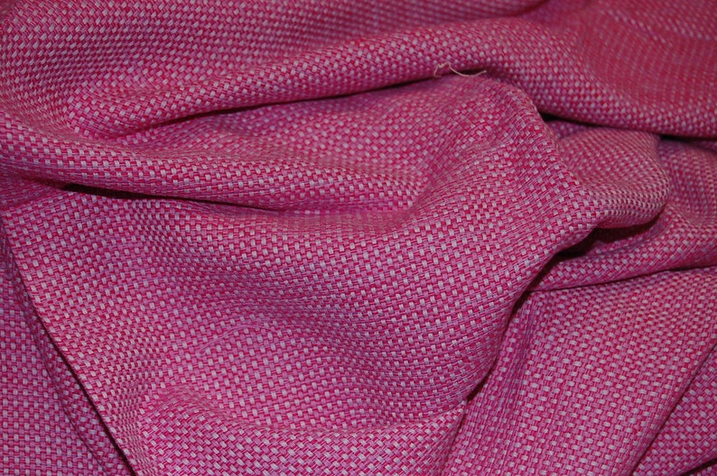 53-54 wide. 100/% Raw Silk Tweed in Blues