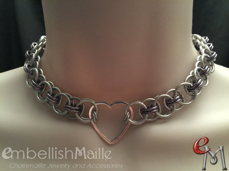 BDSM Discrete Submissive   Slave Collar. Gorean Slave Collar