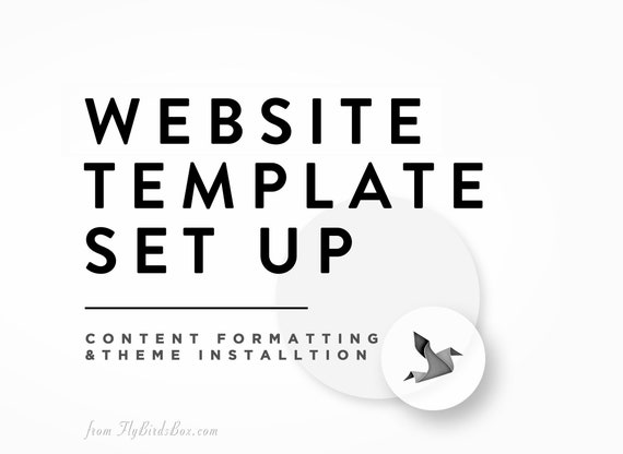 BlogWebsite Theme Installation and Set-Up plus Content Upload  Basic Content  Styling