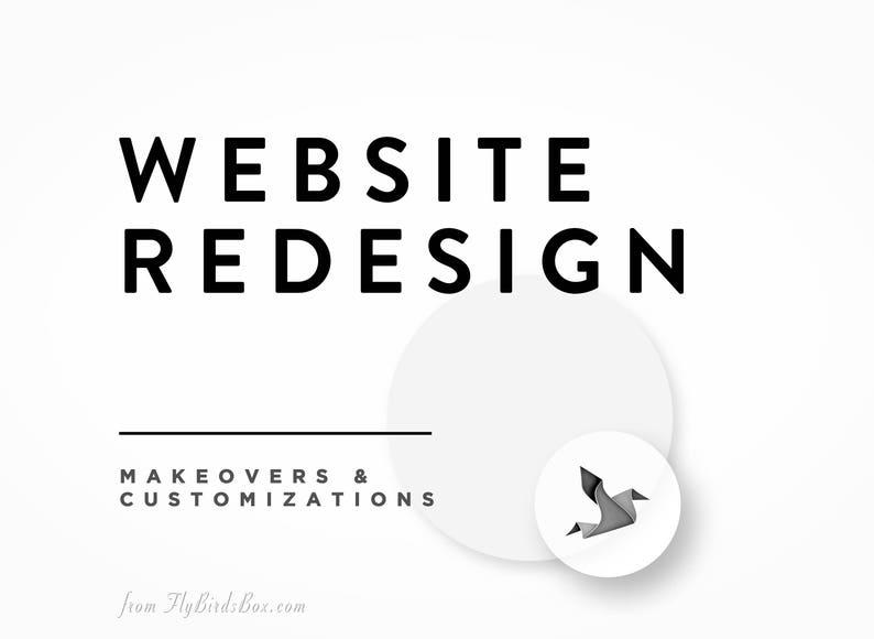 Website Redesign  Design Customization and Refresh image 0