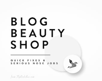 Blog Beauty Shop - Quick Fixes for Blogs and Websites