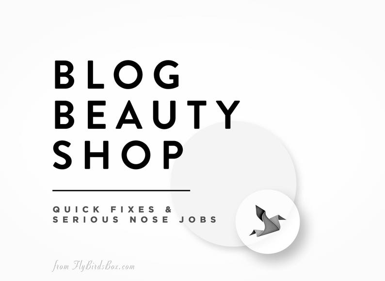Blog Beauty Shop  Quick Fixes for Blogs and Websites image 0