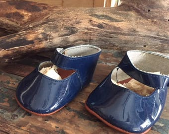 Red or  Blue Mary Jane Doll Shoes