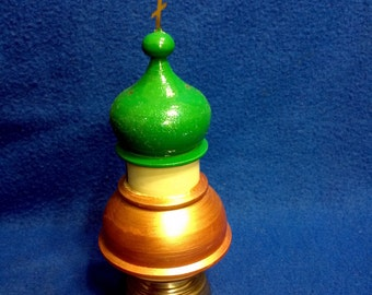 Decorative Model Russian  Orthodox Church Bell