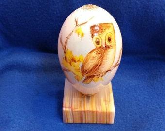 A Porcelain Egg