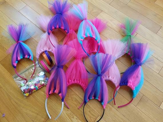 DIYTroll Birthday Party Craft Kit Bulk Pack Qty 20 Troll