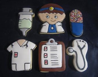 12 Cute Doctor Cookies