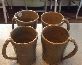 Ceramic Mugs - Set of 4