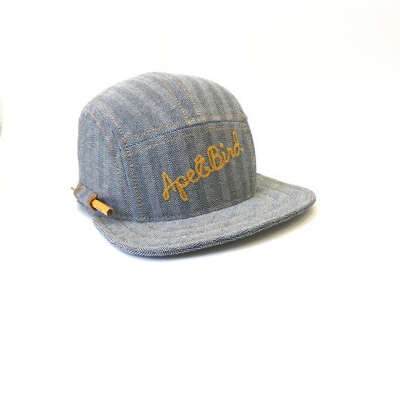 Mens hat ball cap baseball cap five panel hats pencil  0a2a9c1d556