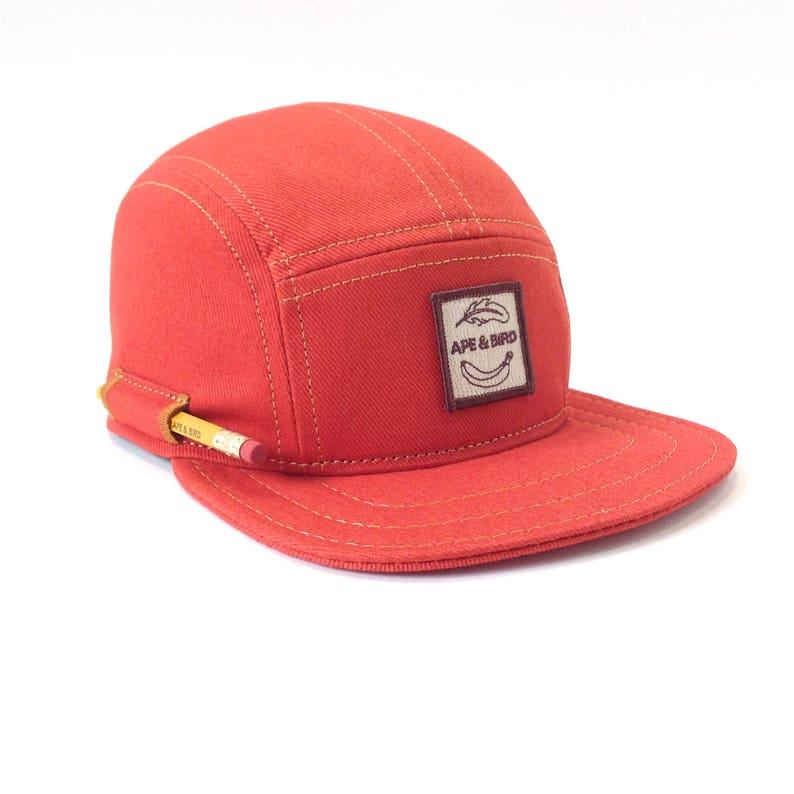 595c90156f7 5 Panel Hat Pencil Hat Camp Cap Carpenter Hat Baseball Cap