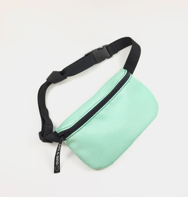 935b5aee548 Bum Bag Green Fanny pack Eco friendly gifts handmade belly image ...