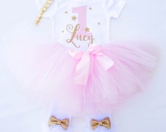 Twinkle Twinkle Little Star First Birthday Outfit / 1st Birthday Girl Outfit Twinkle Little Star / One Year Old Girl Birthday Outfit