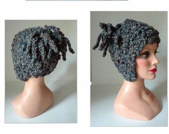 Cap wool ear warmer ski hat, wool, Mütze Hat winter hat, winter Hat