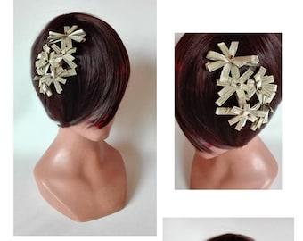 fascinator, hair jewelry, hair clip, pillbox Hat fascinator, kopfschmuck