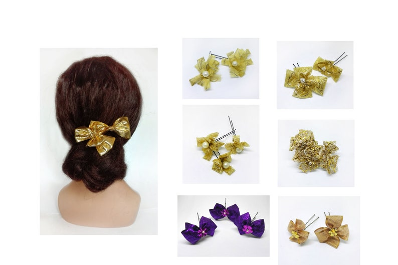 New Year's Gold Hair Accessory 2020 Christmas hair image 0