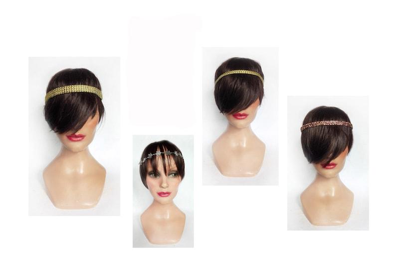 Glamorous bridal band 2020 headband retro Christmas party image 0